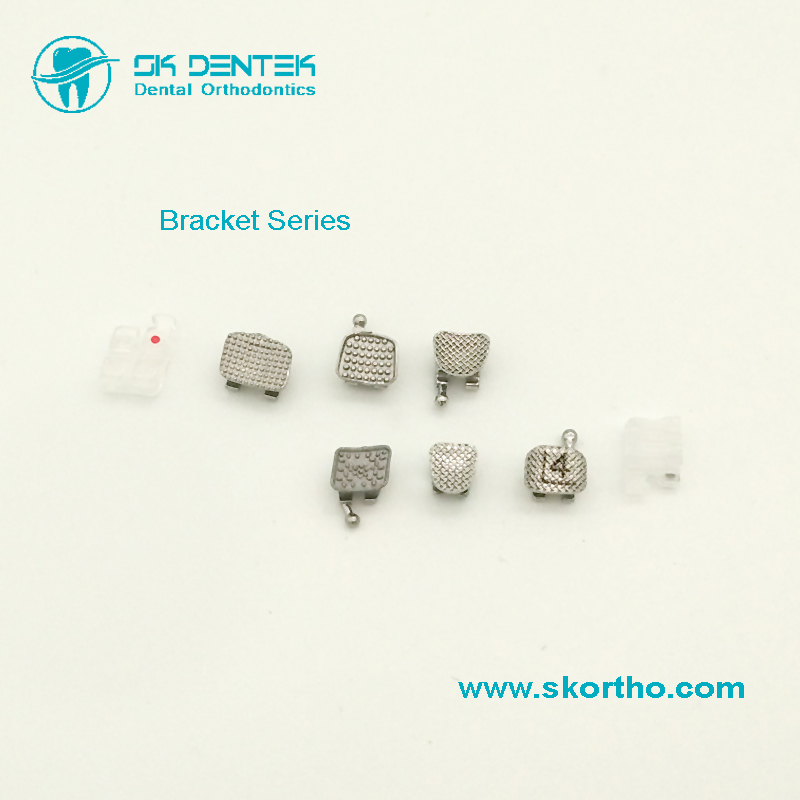 Dental Orthodontic Bracket Series