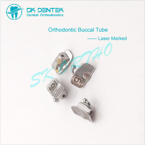 Laser Marked Buccal Tube