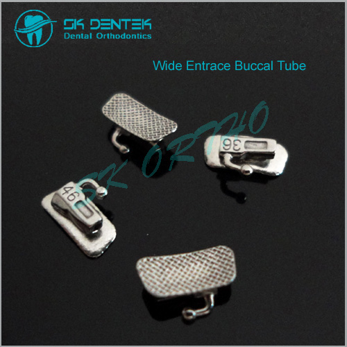 Wide Entrance Buccal Tube
