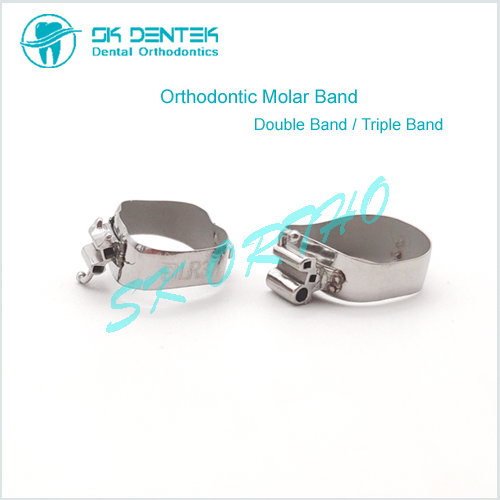 Orthodontic Molar Band with Convertible Tube