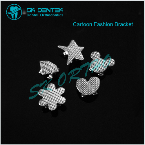 Orthodontic Fashion Cartoon Bracket
