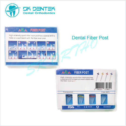 Dental Screw Fiber Post with Drills
