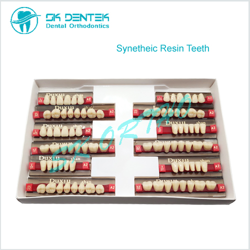 Dental Lab Synthetic Acylic Resin Teeth Polymer False Teeth