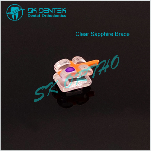 Dental Transparent Sapphire Bracket